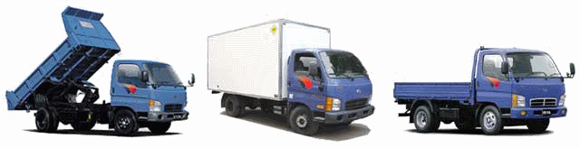 Запчасти для грузовых автомобилей Hyundai HD-72, HD-78, HD-120, Porter, County